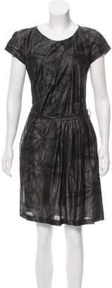 HUGO BOSS Boss by Pleated Mini Dress