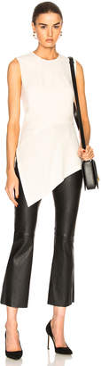 Victoria Beckham Sleeveless Asymmetric Top