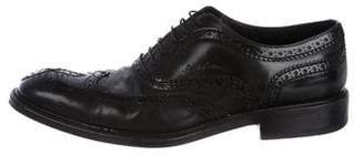 Louis Vuitton Wingtip Leather Brogues