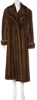 Natural Furs Mink Long Coat