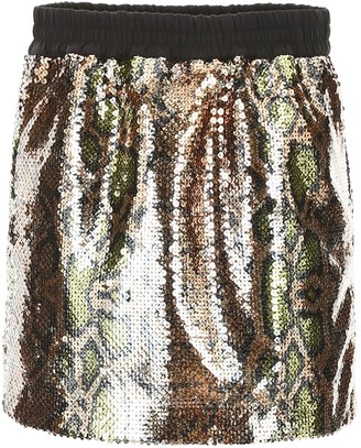 N°21 N.21 Sequins Mini Skirt