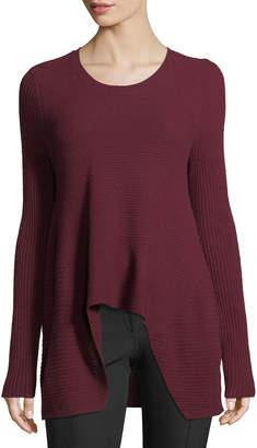 Neiman Marcus Cashmere Handkerchief Sweater