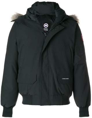 Canada Goose fur hooded jacket