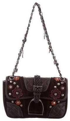 Luella Suede Crossbody Bag