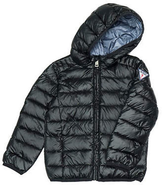 GUESS Little Boy's Quilted Down Puffer Jacket