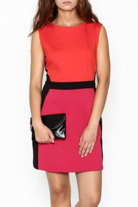 Jade Ponte Knit Dress