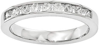 MODERN BRIDE 1/3 CT. T.W. Diamond 14K White Gold Wedding Band