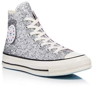 Converse x Chiara Ferragni Women's Chuck Taylor Tillands Glitter High Top Sneakers