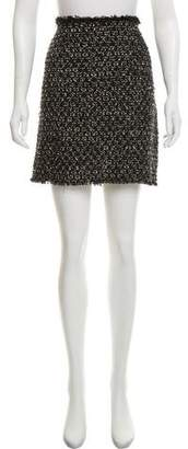 Lanvin 2012 Tweed Mini Skirt
