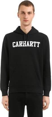 Carhartt College Logo Hooded Sweatshirt