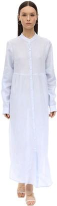 Gioia Bini EMMA LONG LINEN SHIRT DRESS