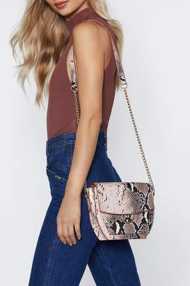 Nasty Gal WANT Snake Them Out Crossbody Bag
