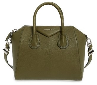 Givenchy 'Small Antigona' Leather Satchel - Blue $2,290 thestylecure.com