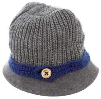 Hat Attack Wool Knit Bucket Hat