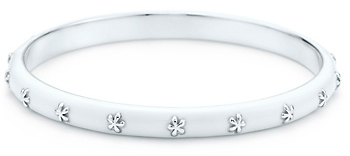 Tiffany & Co. Flower bangle
