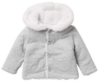 Joe Fresh Reversible Fleece Hoodie (Baby)