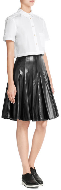 Marc By Marc JacobsMarc by Marc Jacobs Faux Leather Skirt