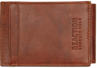 Kenneth Cole Reaction Men Crunch Magnetic Front-Pocket Leather Wallet