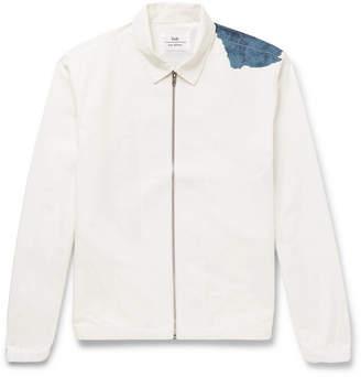Folk Goss Brothers Watercolour Printed Cotton-Twill Jacket