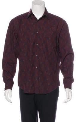 Vince Paisley Print Shirt