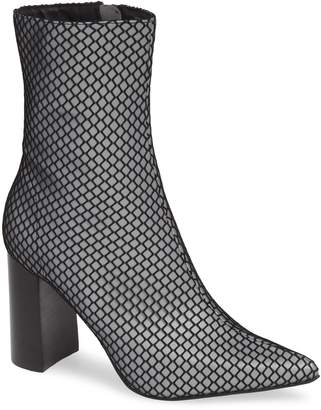 Jeffrey Campbell Siren Mesh Wrapped Bootie