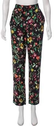 3.1 Phillip Lim Silk Semi-Sheer Harem Pants