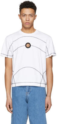 Craig Green White Flat Lock Jersey T-Shirt