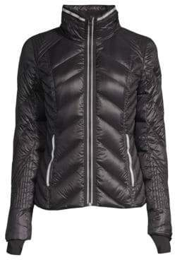 Blanc Noir Quilted Puffer Jacket