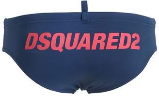 DSQUARED2 Underwear Logo Printed Nylon Swim Briefs