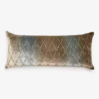 Kevin OBrien Kevin O'brien Arches Velvet Pillow Gunmetal