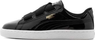 Puma Basket Heart Patent Wns Black