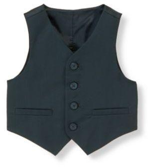 Janie and Jack Wool Suit Vest