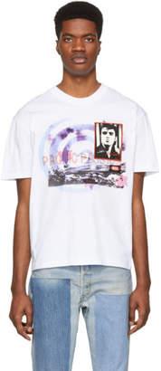 McQ White Elvis T-Shirt