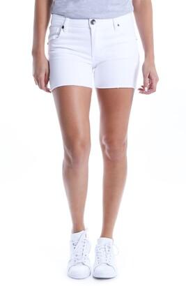 KUT from the Kloth Gidget Raw Hem Shorts