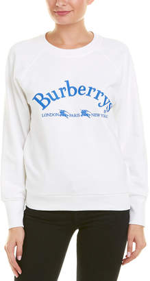 Burberry Battarni Embroidered Archive Logo Sweatshirt