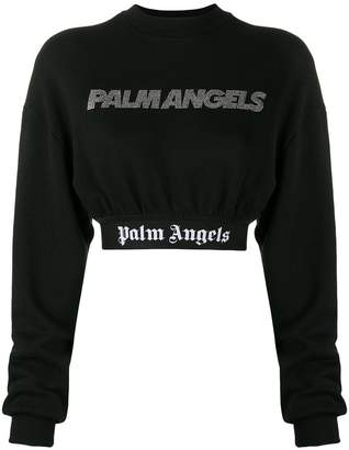 Palm Angels cropped sweater
