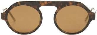Thom Browne Eyewear Thick Bridged Sunglasses