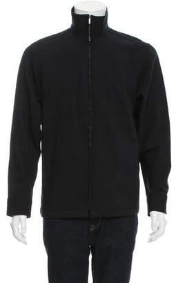 Kenzo Wool Zip-Up Jacket