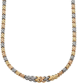 FINE JEWELRY Limited Quantities! Womens 17 Inch 10K Gold Link Necklace