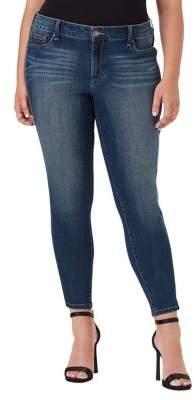 Jessica Simpson Plus Plus Mid Rise Skinny Pants