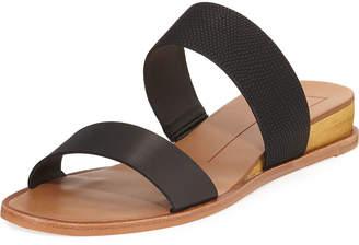 Dolce Vita Pasia Banded Slide Wedge Sandals