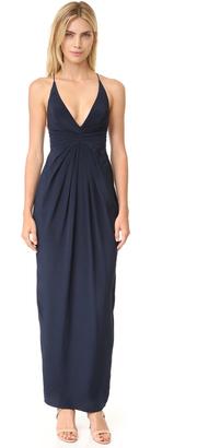 Zimmermann Silk Crossback Long Dress $530 thestylecure.com