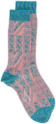 Ayame grater patterned socks