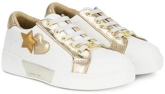 Michael Kors Kids embellished lace-up sneakers