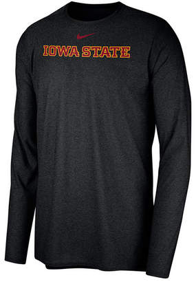 Nike Men's Iowa State Cyclones Long Sleeve Player T-Shirt
