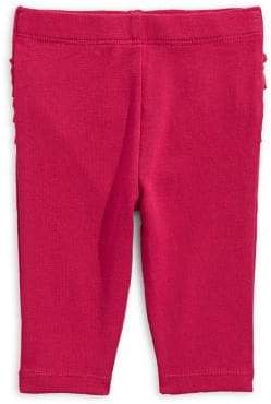First Impressions Baby Girl's Cotton Ruffle Bow Pants