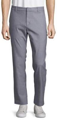 Black & Brown Black Brown Classic Flat-Front Pants