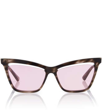 Cat Eye MCQ Sunglasses Angular Acetate Cat-Eye Sunglasses