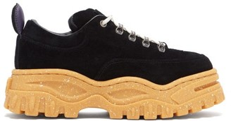 Eytys Angel Suede Trainers - Womens - Black