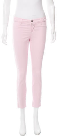 J BrandJ Brand Mid-Rise Cropped Pants